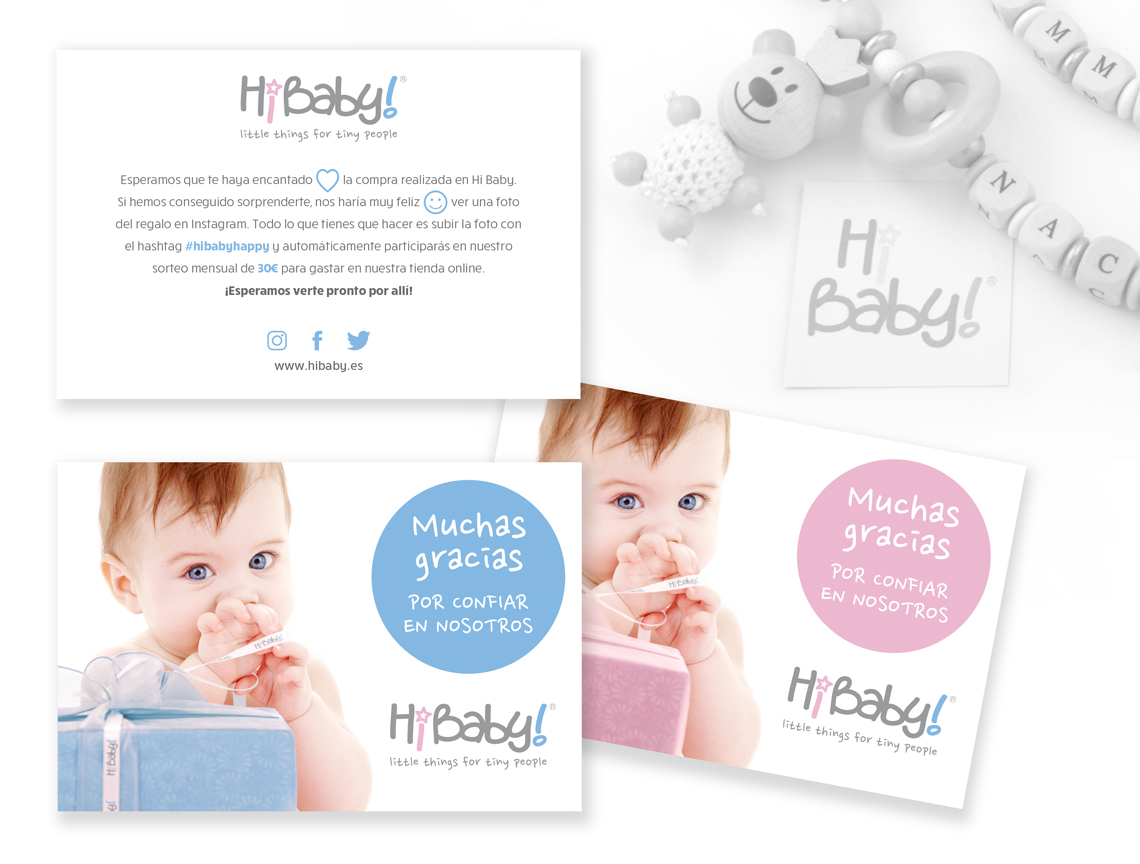 Brandall Agency Project Hi Baby Design