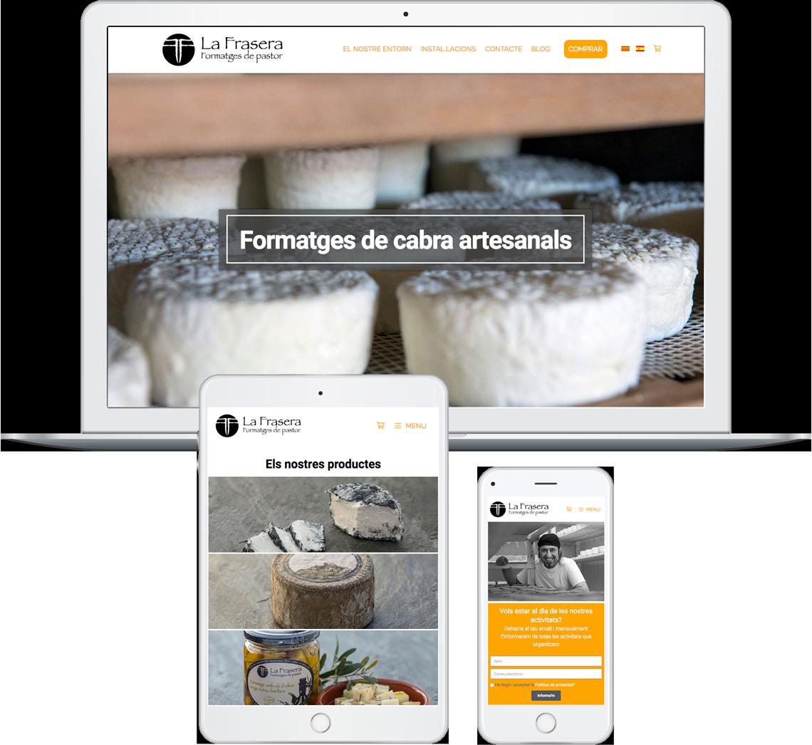 Brandall Agency La Frasera Website Design